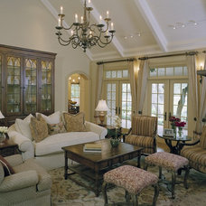 Traditional Living Room by Baxter Design Group