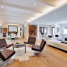Contemporary Living Room by Dworsky Architecture