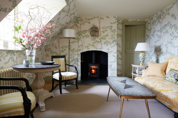 Shabby-Chic Style Living Room by Mr & Mrs Smith