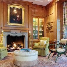 Traditional Living Room by Soucie Horner, Ltd.