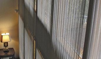Energy Saving Woven Wire Metal Drapery