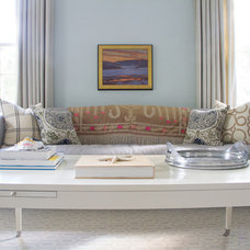 Contemporary Living Room by Purple Bike Design