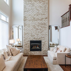 Traditional Living Room by Lifestyle Homes