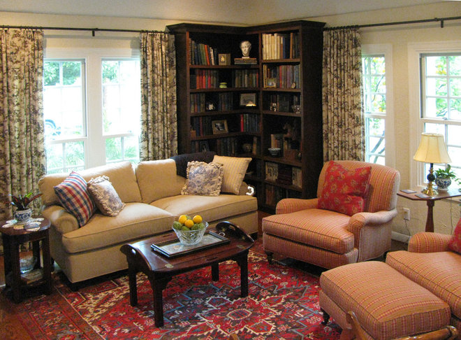 Traditional Living Room by Talianko Design Group, LLC