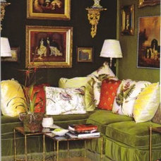 Eclectic Living Room English Fantasy