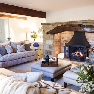 English Country Living Room | Houzz