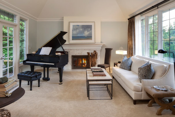 Traditional Living Room by Interiors