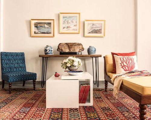 Chic Bohemian Living Room   English Kitsch