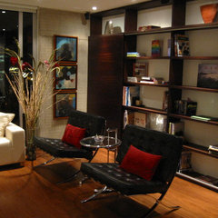 contemporary living room by Adriana Aristizabal