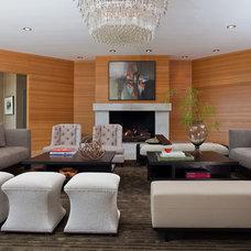 Modern Living Room by Kenneth Brown Design