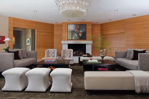 Modern Living Room by Kenneth Brown Design