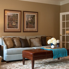 Traditional Living Room by Jace Interiors & CreateGirl Blog