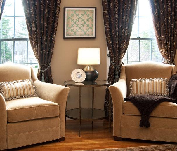 Traditional Living Room by Jace Interiors & CreateGirl Blog