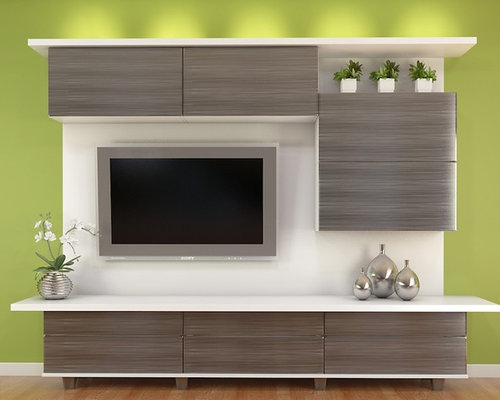 Modern Entertainment Center Houzz