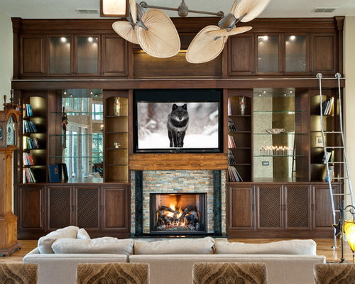 Built In Media Center Home Design Ideas Pictures Remodel