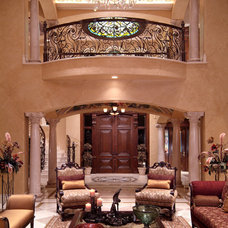 Traditional Living Room by Integrated Interior Design