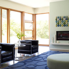 Modern Living Room by Sharon Portnoy Design