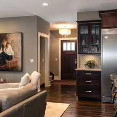 Contemporary Living Room by Terry Ellis, ASID - Room Service Interior Design