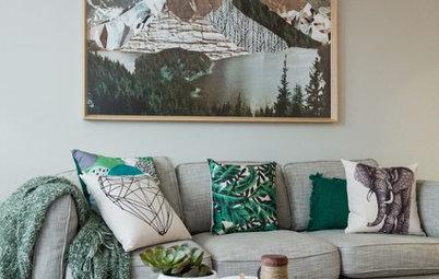 5 combinaciones para decorar el salón en otoño