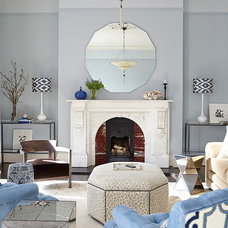 Transitional Living Room by Eoin Lyons Interiors