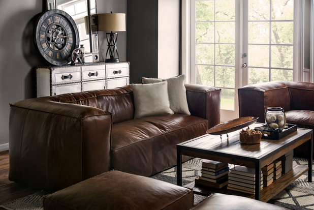 Industrial Living Room by Living Spaces