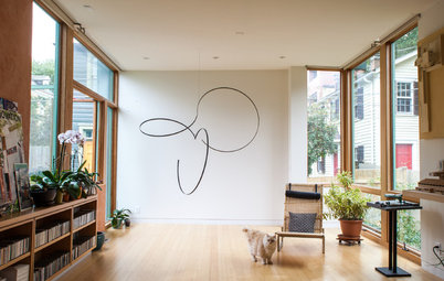 At Home With Art: Suspended Sculptures Heighten the Possibilities