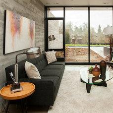 Modern Living Room by Whitney Lyons
