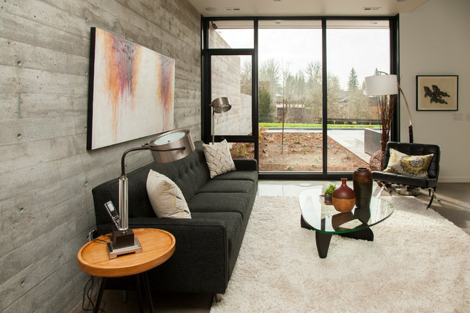 Modern Living Room by Whitney Lyons