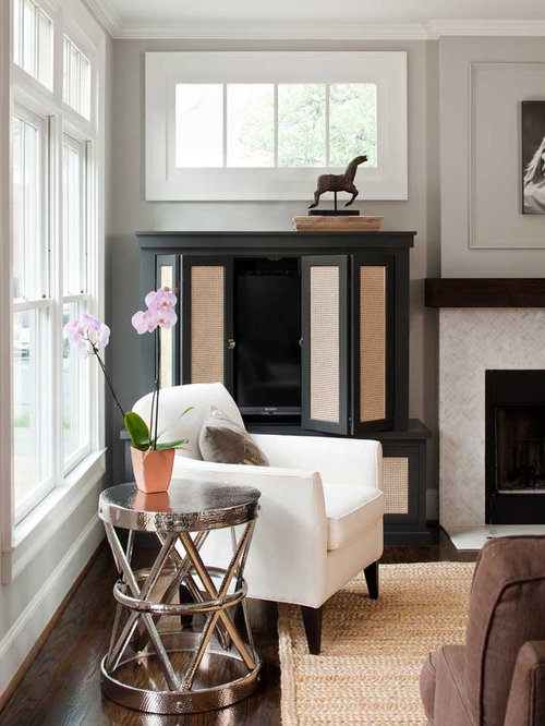 Dark Stained Mantel Home Design Ideas, Pictures, Remodel and Decor