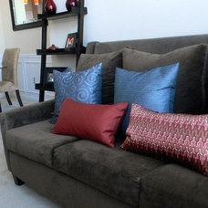 Traditional Living Room by Erika Ward - Erika Ward Interiors