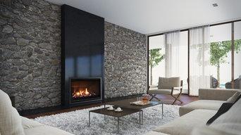 Escea - AF960 Gas Fireplace