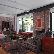 Contemporary Living Room by Andersen Miller Design