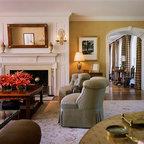 Stark Natura Sisal Traditional Living Room Orange