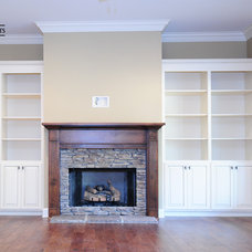 Traditional Living Room by Livingston Cabinets
