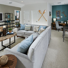 Living Room by Meritage Homes