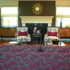 Traditional Living Room by Tina Gargiulo for Ethan Allen