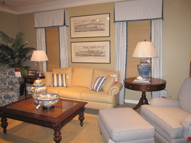 Traditional Living Room by Marie Grabo Designs