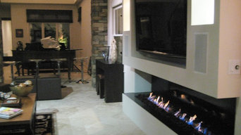 Ethanol Fireplace in Tampa