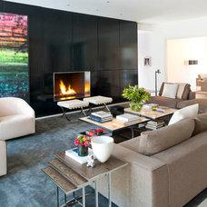 Modern Living Room by R Brant Design