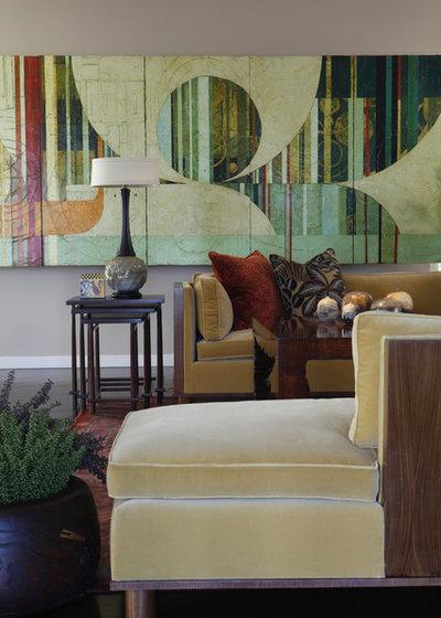 Popular Contemporary Living Room by Philpotts Interiors