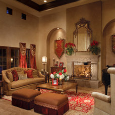 Mediterranean Living Room by Guided Home Design