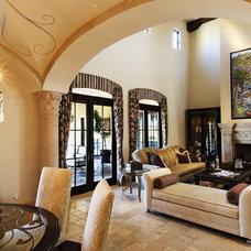 Traditional Living Room by VM Concept Interior Design Studio