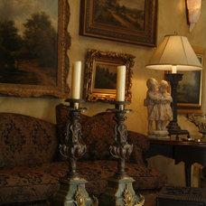 Mediterranean Living Room by Bruce Kading Interior Design