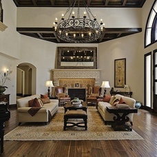 Mediterranean Living Room by Meridith Baer Home