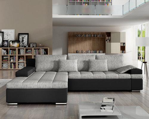 European Sectional Sleeper Sofa CESARE