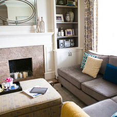 Traditional Living Room by Pure Bliss Creative Design