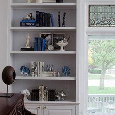 Traditional Living Room by Buckingham Interiors + Design LLC
