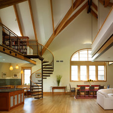 Living Room by Foster Dale Architects, Inc.