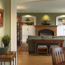 Traditional Living Room by Goforth Gill Architects