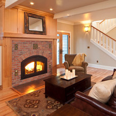 Traditional Living Room by Copperline Homes